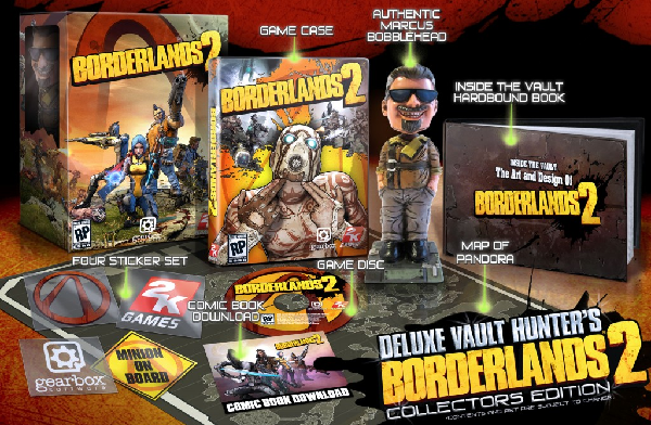 Borderlands 2 Receives 2 Special Editions